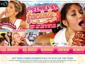 Welcome to Cheerleader Facials - hot nude sexy cheerleaders in cumshot sex porn!