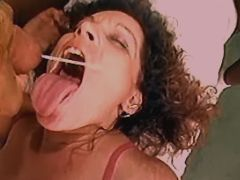 Milf has anal fuck and gets facials