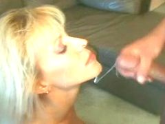 Milf gets sex and facial